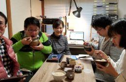 福岡大学 上り坂食品開発チームメンバーと打ち合わせ