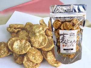 >麦とろろチップス(しょうゆ味)